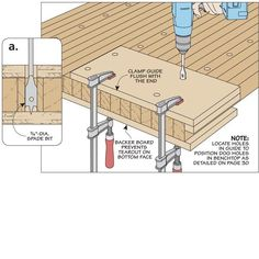Bench Dog Drilling Guide | Woodsmith Tips