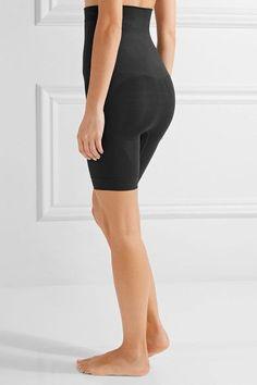 Yummie by Heather Thomson - Kara High-rise Stretch-jersey Shorts - Black - x small