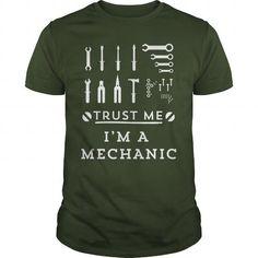 I Love Trust Me I'm A Mechanic T Shirt Shirts & Tees
