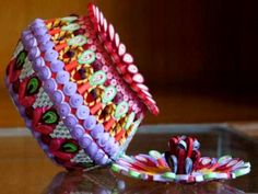 Paper Quilling Box and Vase Designs By Maninder Marwaha