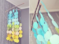 Run With Scissors: DIY Crib Mobile-Guest Blogger Sherry!