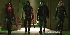 "Arrow: 11 Photo Preview of Episode 418, ""Eleven-Fifty-Nine"""