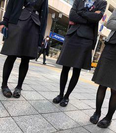Stockings Legs, Japanese, Lady, Sandals, Style, Fashion, Slide Sandals, Moda, Shoes Sandals