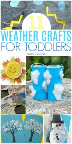 weather crafts for toddlers preschool #toddler #preschool #kidscrafts