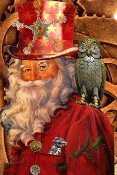 ʂŧɘąɱ ~ ❄☃ Steampunk Victoriana Christmas ☃❄ ~ Santa