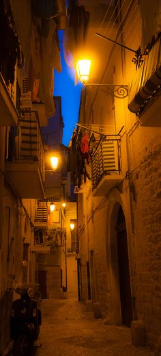 Bari - Italy - Old city Where my Dad comes from, where my family is. <3