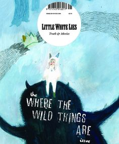 Little White Lies is a great magazine about Truth and Movies, this is a competition front cover response by Devorah Hall.