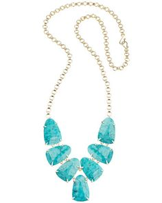 Harlie+Necklace,+Turquoise+by+Kendra+Scott+at+Neiman+Marcus.