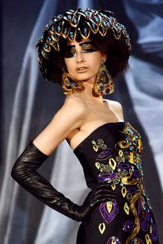 john galliano | Keep the Glamour | BeStayBeautiful      Christian Dior Spring 2008 Haute Couture