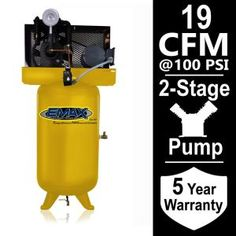 EMAX Industrial Series 80 Gal. 5 HP 1-Phase Electric Air Compressor