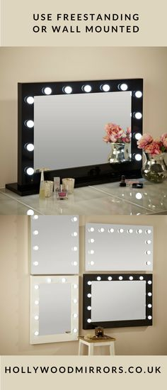How To Make A Vanity Mirror With Lights Amusing Diy Vanity Mirror With Lights For Bathroom And Makeup Station