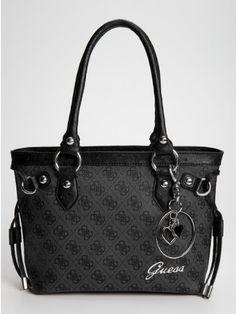 Guess Handbag Reama Top Handle Flap Shoulder Bag 8