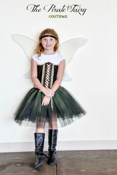 The Pirate Fairy costume #Halloween #costume