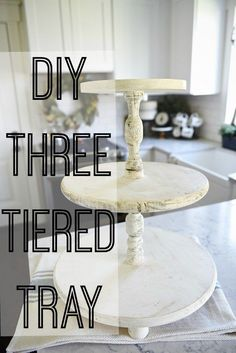 Awesome DIY Three Tiered Tray   By Www.best99 Home D