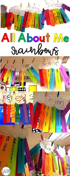 All About Me Back to School Craftivity