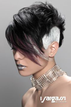 #pixie #undershave #undercut #punk Creative Hair Color, Hair Shop, Hair Brained, Girl Haircuts, Sassy Hair, Fantasy Hair, Crazy Hair, Hair Lengths, Short Hair Cuts