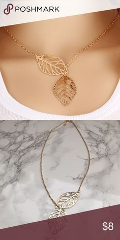 PRICE DROP! Delicate Gold Leaf Necklace ✨ This is a beautiful and delicate gold toned leaf lariat necklace! Brand new, makes a great gift! Only one available. Price firm unless bundled. Please ask any questions prior to purchasing  (not from anthropologie - listed for exposure) Jewelry Necklaces