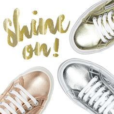 Shine On - Superga Metallics Superga Shoes, Shoes Online, Trainers, Baby Shoes, Patterns, My Style, Spring, Heels, Sneakers
