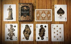 Deck View: Don Quixote (Hidalgo) Playing Cards Vol.1 | Kardify : Playing Cards News