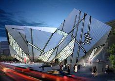 Royal Ontario Museum Descontrutivismo Daniel Libeskind