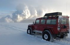 #JetsetterCurator Iceland rovers allow you to explore remote, pristine areas in Iceland.