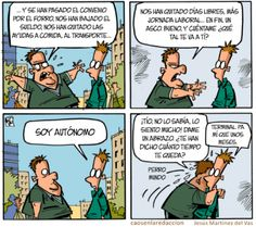 Enfermo por ser #autónomo Humor Grafico, Lol, Comics, Sick, I'm Sorry, Journaling, Cartoons, Comic, Comics And Cartoons