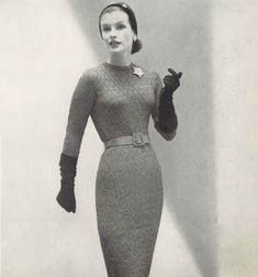 "Vegan Metal Vamp: Vintage Pattern: ""Slim Silhouette"" Blouse and Skirt, Sizes 12-20"