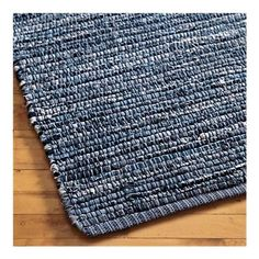 Blue jean rug. wow -would like to try this!
