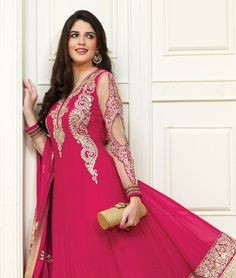 Enhance your ethnic style with the latest collection of some gorgeous ethnic wear! Now you can transform your traditional look into something more gorgeous, chic and elegant. So carry yourself with grace and define simplicity in its true form! BRAND: BrijrajCATEGORY: Unstitched Suit with DupattaARTICLECOLOURMATERIALLENGTHTopPinkPoly Faux Georgette3.00 metersBottomPinkShantoon2.25 metersDupattaPinkChiffon2.50 metersWe would always want to send you what we showcase but there might be a slight…