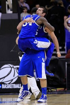 Kentucky Wildcats.. going to the final four dstamper1