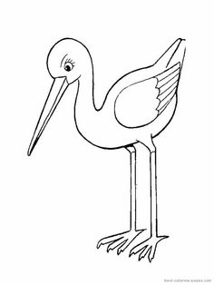 Black And White Clip Art Free Birds
