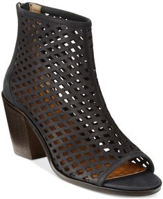 Kelsi Dagger Brooklyn Kyoto Perforated Shooties - Boots - Shoes - Macy's