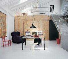 Modern Light Loft Interior