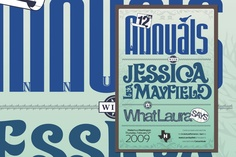 Poster design for Jessica Lea Mayfield