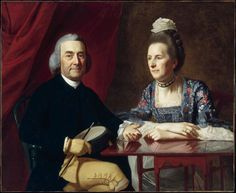 """1st. cousin 11x removed Isaac Winslow with his wife. Isaac Winslow was the grandson of Mayflower passenger Edward Winslow (October 18, 1595 – 1655), a governor of Plymouth Colony and one of that colony's near-mythical """"Pilgrims"""". Isaac's father, Josiah, also served as governor of Plymouth Colony, and as commander-in-chief of the colonial English forces during King Philip's War."""