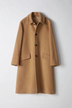 Magma Coat in Camel,