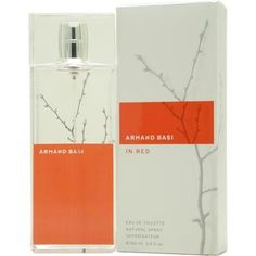 Launched by the design house of Armand Basi in 2002, ARMAND BASI IN RED by Armand Basi for Women posesses a blend of: Violet Leaves, Ginger, Moss, Mandarin, Bergamot, Cardamom, Wood, Rose, Lily, Musk, Jasmin It is recommended for casual wear.