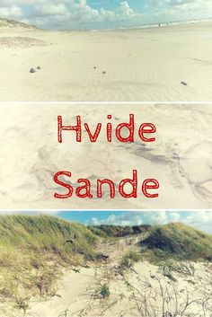 Mein Lieblings - Strand in Hvide Sande, Dänemark, an der Nordsee - Küste.