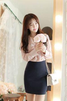 Classic Day Skirt | Korean Fashion