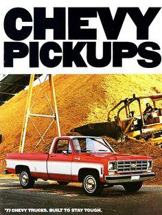 1977 Chevrolet Pickups