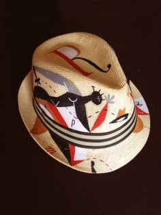 Wouldn't wear this, but I love the illustrations, nonetheless. | Chapeau d'aix by Riccardo Guasco, via Behance