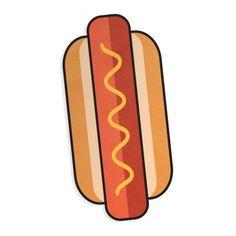 Strandlaken Hot Dog  Geniet op het strand van een levensgrote Hot Dog (180 cm). De lakens zijn gemaakt van superzacht lichtgewicht microfiber polyester en kunnen compact worden opgevouwen. De breedte van de strandlakens varieert, afhankelijk van het ontwerp, maar alle lakens hebben een lengte van 180 cm.