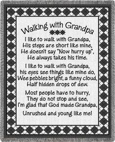 Grandpa Poems From Granddaughter