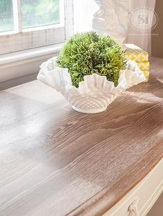 Limed Wood Desk Top3