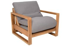 Oke - Single Seater 3 Panel Solid Oak Sofa Bed