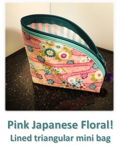 Pink Japanese Floral! Mini Bag, Lunch Box, Japanese, Floral, Pink, Bags, Collection, Jewelry, Handbags