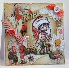 Hi from a wet and miserable Lake District! Maybe a day for hunkering down and crafting, or shopping! Can't quite decide so until I . Mo Manning, Santa's Little Helper, Penny Black, Toys Shop, I Card, Birthday Cards, Christmas Cards, Lake District, Dream Team