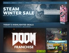 2016 PC Winter Sale Roundup: New Low on Doom, No Man's Sky, and More - http://techraptor.net/content/2016-pc-winter-sale-roundup-new-low-doom-no-mans-sky | Gaming, News