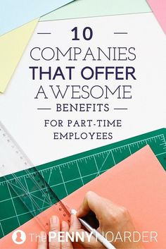 Yes, you can enjoy awesome perks without working 40 hours a week. Check out these companies that offer part-time jobs with benefits like health insurance and retirement plans. - The Penny Hoarder http://www.thepennyhoarder.com/part-time-jobs-with-benefits/