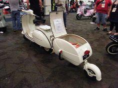 1963 Vespa GL & PAV-40 trailer | Flickr - Photo Sharing!